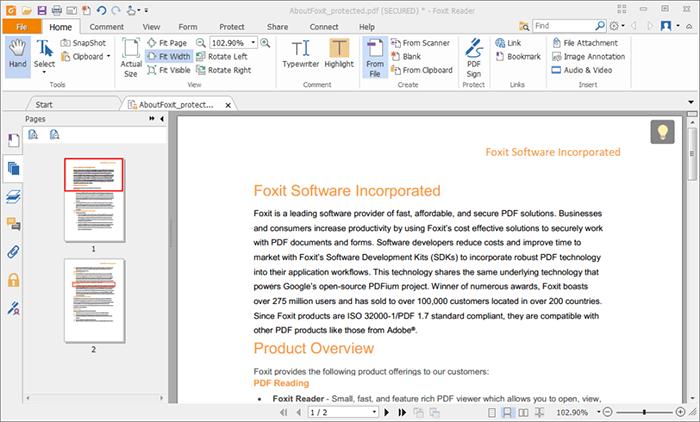 Download Foxit Reader Full mới nhất 2019 – Phần mềm đọc File PDF
