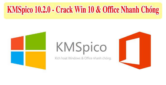 Tải về KMSPico 10.2.0 - Phần mềm Crack Win 10 và Active MS Office 2019