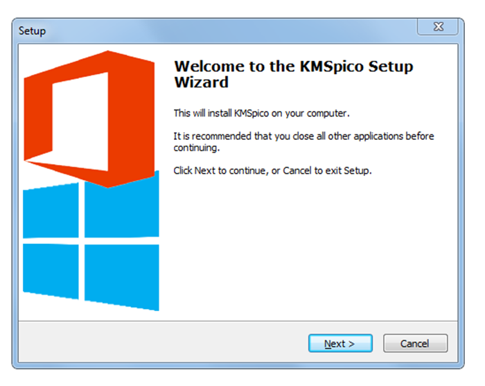 Cài đặt phầm mềm KMSpico