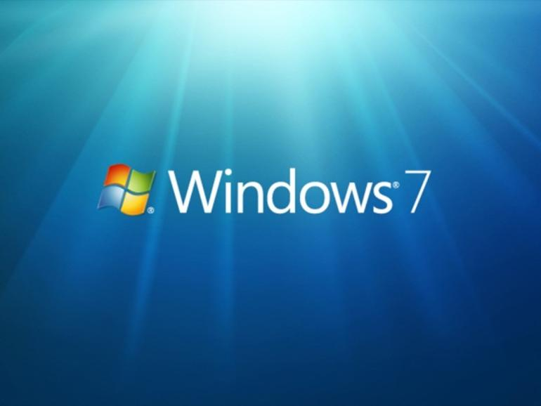 Giao diện desktop Hệ điều hành windows 7