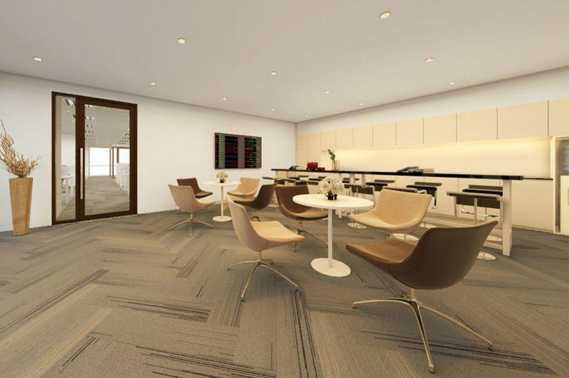 Thiết kế văn phòng trắng tinh khôi của công ty HORIZON